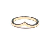 Urban Gem Peaked Interest Mid-Finger Ring