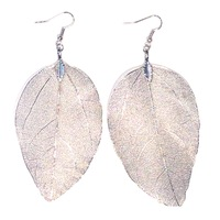 Urban Gem Silver Eve Earrings