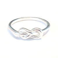 Urban Gem To Infinity Ring in Silver
