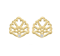 Matterial Fix Floral Stud Earrings (India Collection)