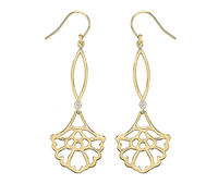 Matterial Fix Floral Drop Earrings (India Collection)