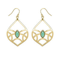 Matterial Fix Vaulted Earrings  (India Collection)