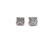 Urban Gem Giza Studs in Silver