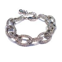 Urban Gem Pavé Link Chain Bracelet