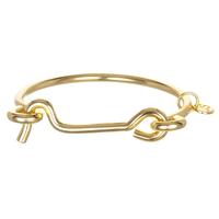 Jules Smith Americana Lock Bracelet in Gold