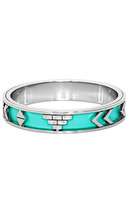 House of Harlow 1960 Aztec Bangle in Robin's Egg