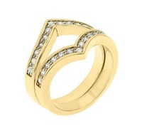 Matterial Fix Chevron Stacking Rings (India Collection)