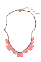 Loren Hope Blythe Necklace in Coral