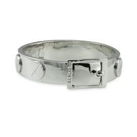 CC Skye Metal Screw Bracelet in Silver