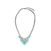 Urban Gem Elsa Necklace in Mint