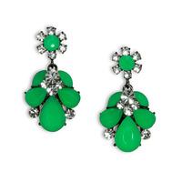 Urban Gem Ava Earrings in Green