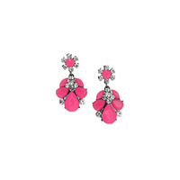 Urban Gem Ava Earrings in Pink