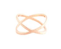 Wanderlust + Co Orbit Rose Gold Ring