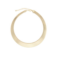 Urban Gem Gold Collar Necklace