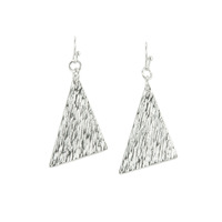 Urban Gem Triangle Earrings