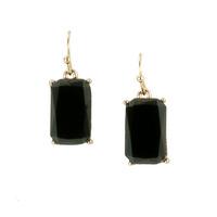 Urban Gem Kaitlyn Earrings in Black