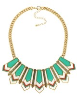 Urban Gem Farrah Necklace in Turquoise