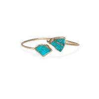 Robyn Rhodes Pica Cuff in Turquoise