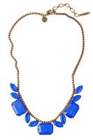 Loren Hope Blythe Necklace in Cobalt