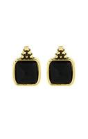 House of Harlow 1960 Sugarloaf Earrings in Black