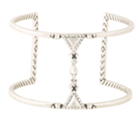 House of Harlow 1960 Trés Tri Cut Out Cuff in Silver