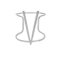 Jules Smith Pave Triangle Cuff Bracelet