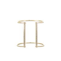 Jules Smith Pavé Lined Open Cuff