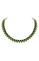 House of Harlow 1960 Wren Feather Collar