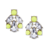 Perry Street Gwen Crystal Earrings in Yellow