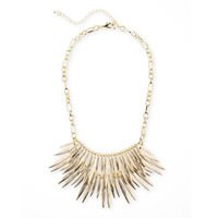 SLATE Golden Flair Necklace