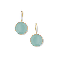 Margaret Elizabeth Faceted Drops in Aqua