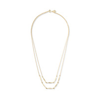 Gorjana Geometric Double Layer Necklace