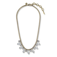 Loren Hope Palmer Necklace in Crystal