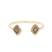Vanessa Mooney Diamond Lace Cuff in Gold