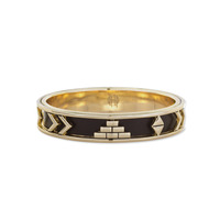 House of Harlow 1960 Aztec Bangle in Black
