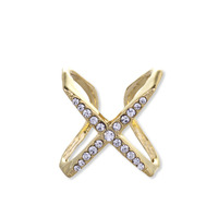 Wanderlust + Co X Double Crystal Gold Ring