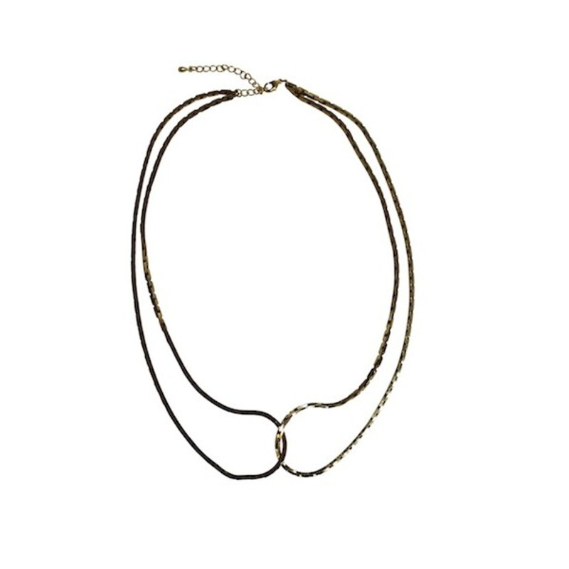 Serefina Vintage Chain Choker Necklace in Infinity