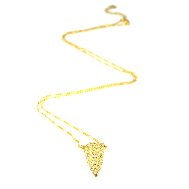 Viento Stilla Pendant in Gold