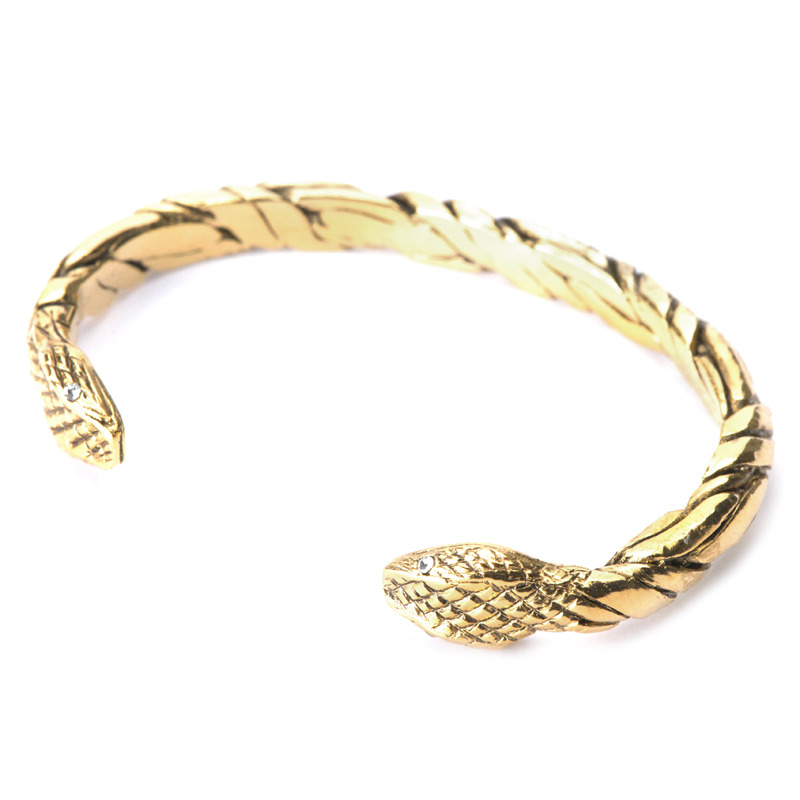 Viento Viper Cuff in Gold