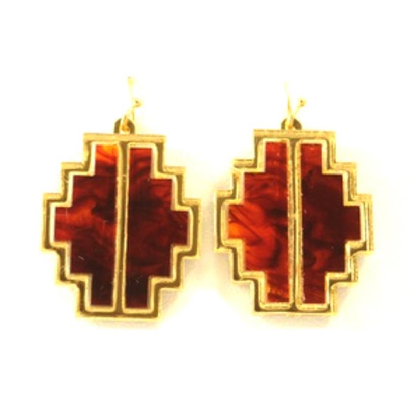 Sandy Hyun Enclosed Wood Earrings