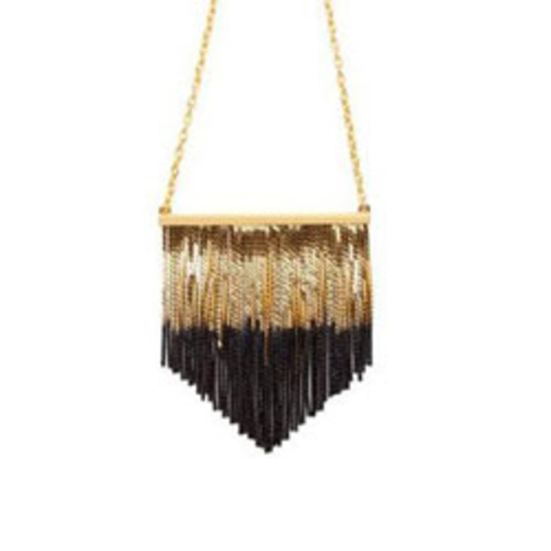 CC Skye Cocktail Fringe Necklace