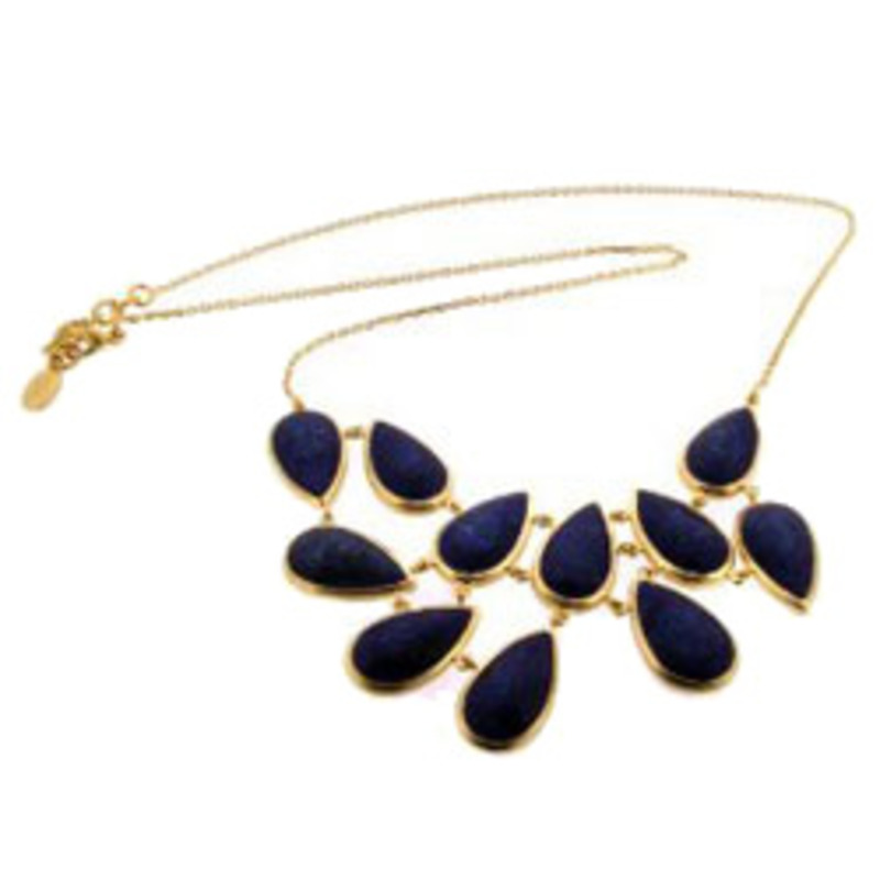 Urban Gem Falling Leaves Necklace