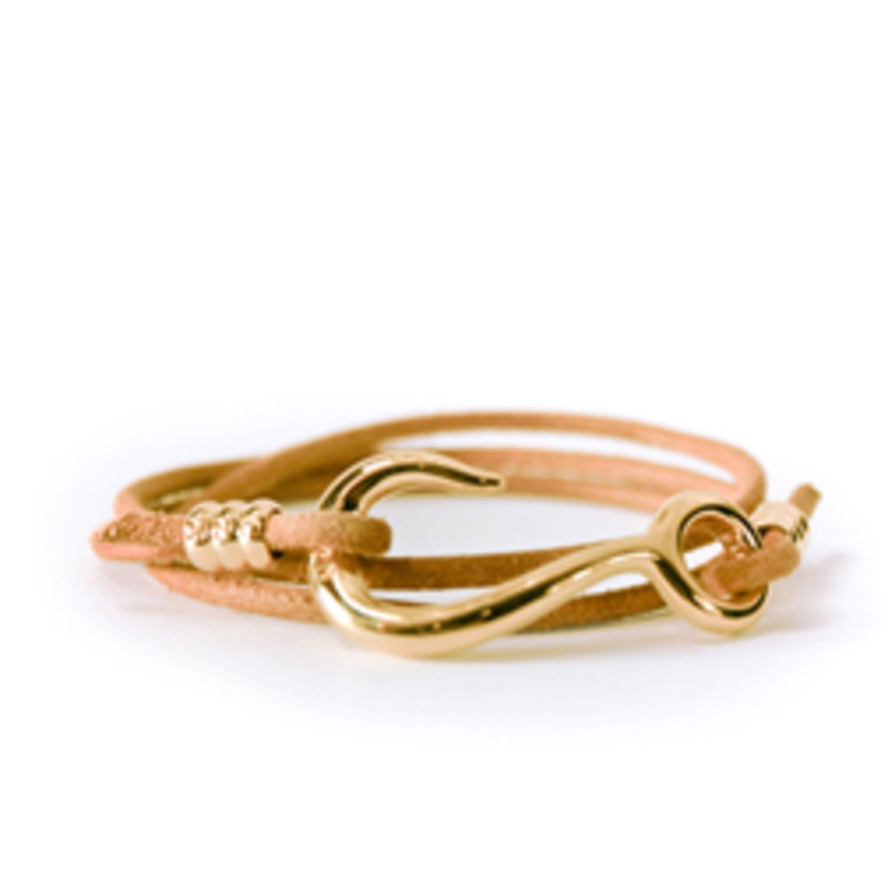 Giles & Brother by Philip Crangi Hook and Sinker Wrap Bracelet