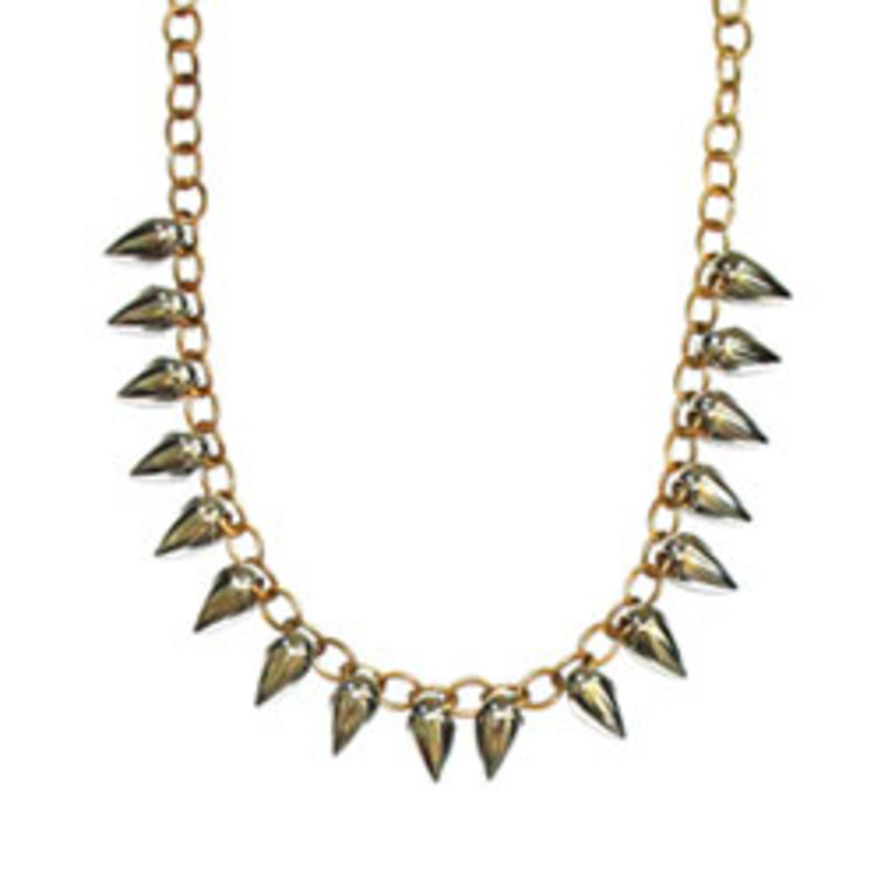 Urban Gem Spiky Stud Necklace