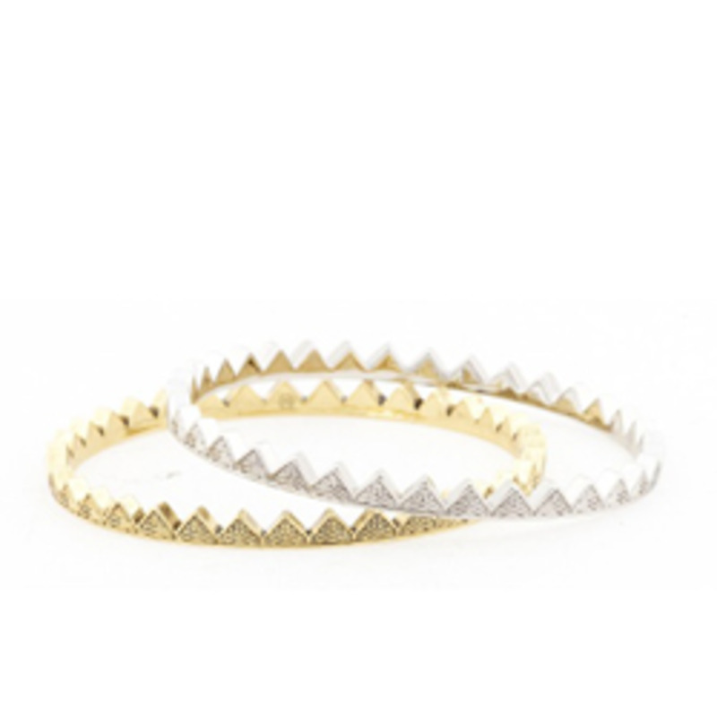 House of Harlow 1960 Thin Spiky Bracelets
