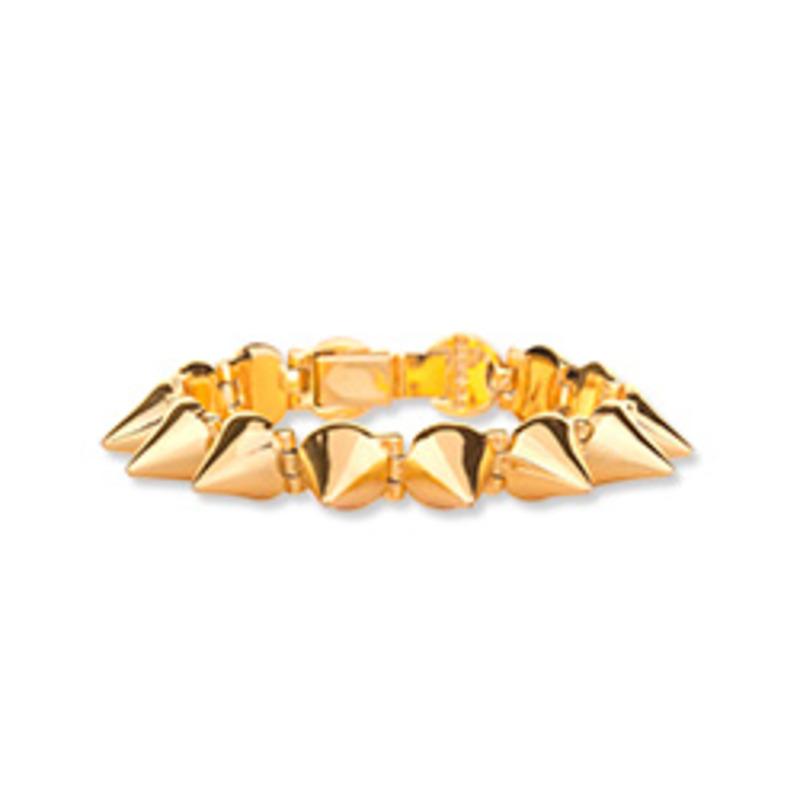 CC Skye Mercy Spike Bracelet in Gold