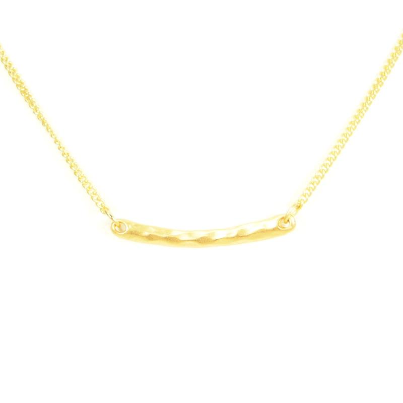 Urban Gem Gold Bar Necklace