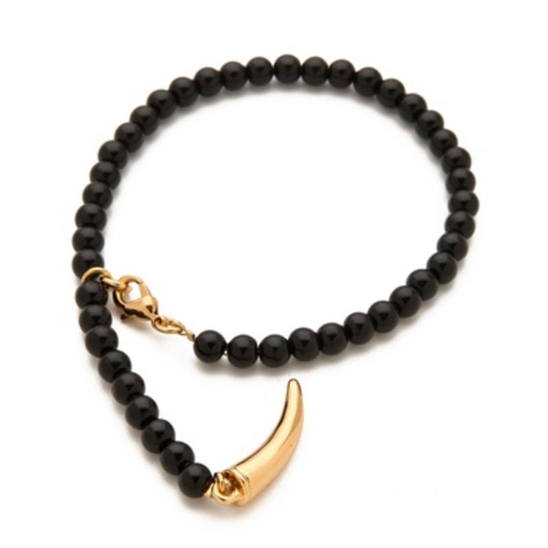 CC Skye Beaded Bracelet in Black
