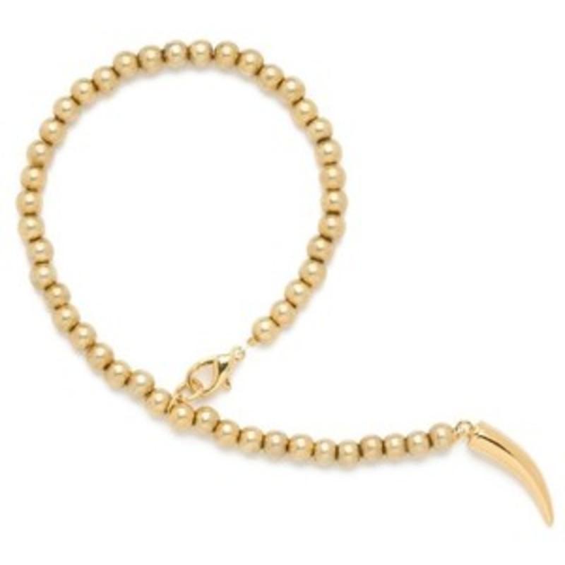 CC Skye Beaded Bracelet in Gold
