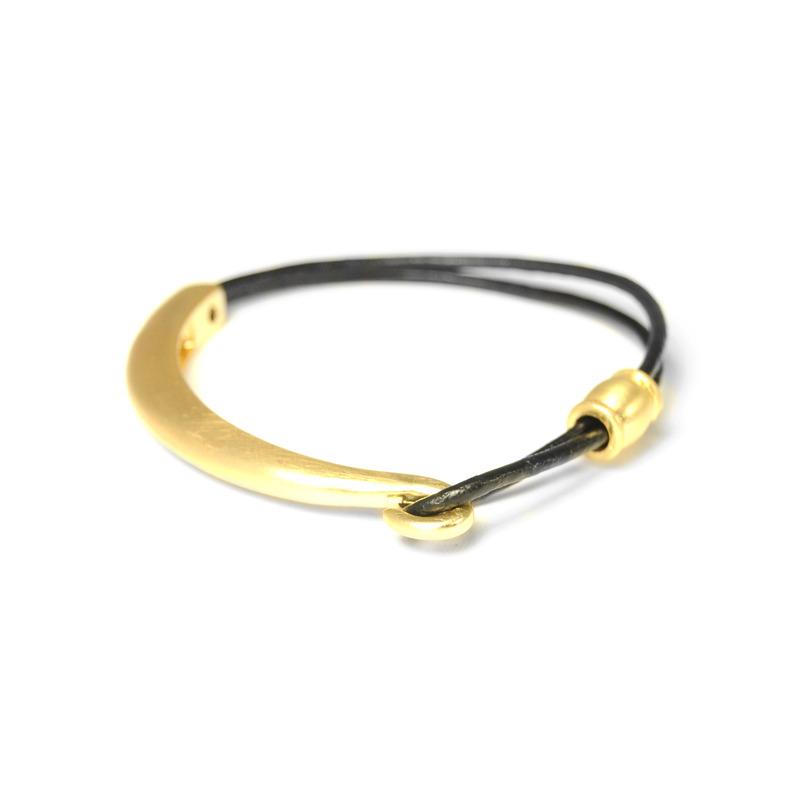Urban Gem Gold Hook Bracelet